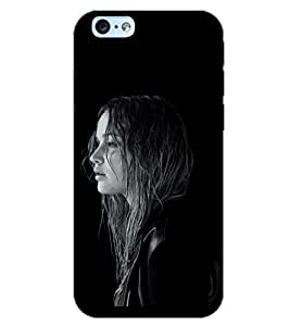 PrintDhaba FRESH GIRL D-6513 Back Case Cover for APPLE IPHONE 6 (Multi-Coloured)