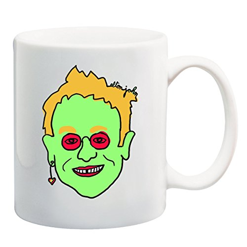 Elton John Verde Tazza
