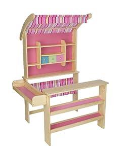 kaufladen kinderkaufladen verkaufsstand aus holz von howa spielzeug. Black Bedroom Furniture Sets. Home Design Ideas
