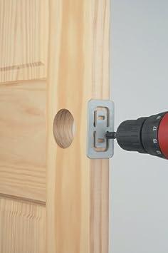 Irwin Industrial Tool 3111001 Carbon Door Lock Kit Mortise