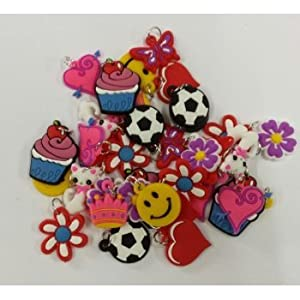 20 Pack of Charms For Rubberband Loom Bracelets (1)
