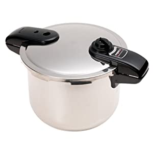 The Presto 8-Quart Pressure Cooker