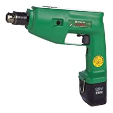 Factory-Reconditioned Hitachi DV10DVKR 12-Volt Ni-Cad 3/8-inch Cordless Hammer Drill/Driver Kit