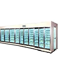 Walk-in Display Cooler 10 Door by AMTECS