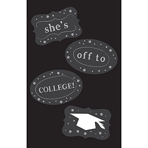 Chalkboard Door Sign with Decals