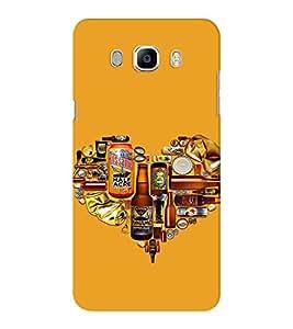EPICCASE Man's World Mobile Back Case Cover For Samsung J5 2016 (Designer Case)