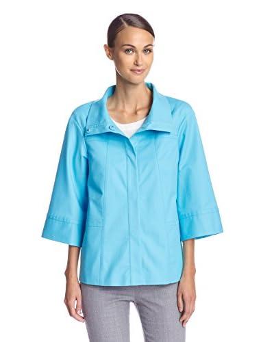 Lafayette 148 New York Women's Cropped Sleeve Emiline Jacket