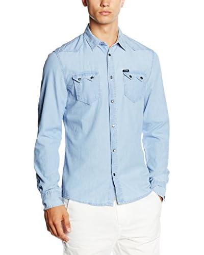 Guess Camicia Denim [Blu Chiaro]
