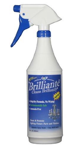 brilliante-crystal-chandelier-cleaner-manual-sprayer-32oz-environmentally-safe-ammonia-free-drip-dry