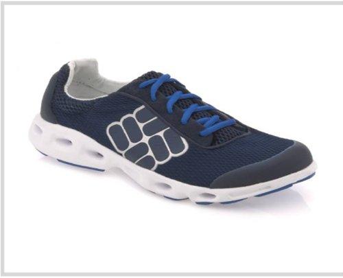 Columbia Sportswear Men's Drainmaker Water Shoe,Dress Blues/Metallic Silver,10.5 M US