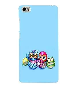 EPICCASE Owl family Mobile Back Case Cover For Xiaomi Mi5 (Designer Case)