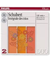 Schubert : Intégrale des trios