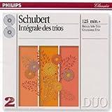 echange, troc  - Schubert : Intégrale des trios