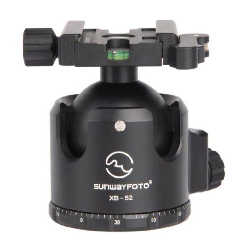 SUNWAYFOTO XB-52DL Duo-Lever Tripod Ball Head Arca Compatible Low COG 132lb Max Load XB52DL Sunway