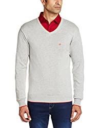 People Men's Cotton Sweater (8903880690236_P10101188003115_Medium_Grey)