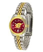 Central Michigan University Ladies Gold Dress Watch