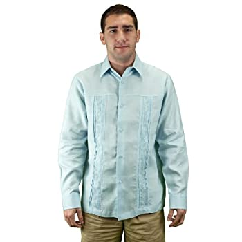 Mens elegant beach wear shirt, pure linen, size xl.