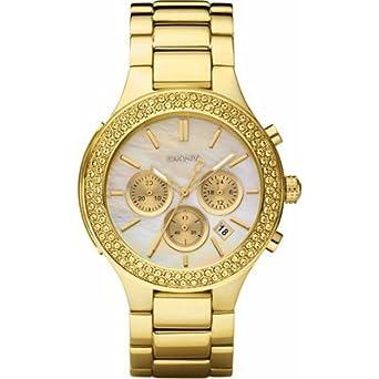 dkny gold plated chronograph ny8178 special
