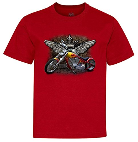 Motorcycle Attitude Biker Youth T-Shirt