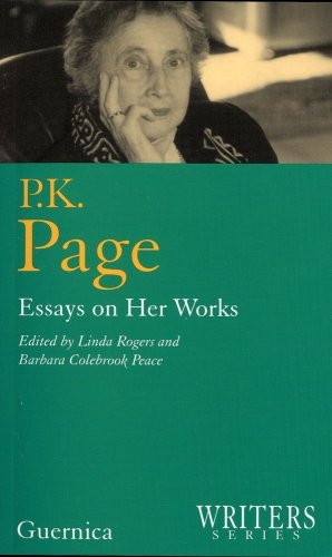 P.k. Page (Writers Series 6)