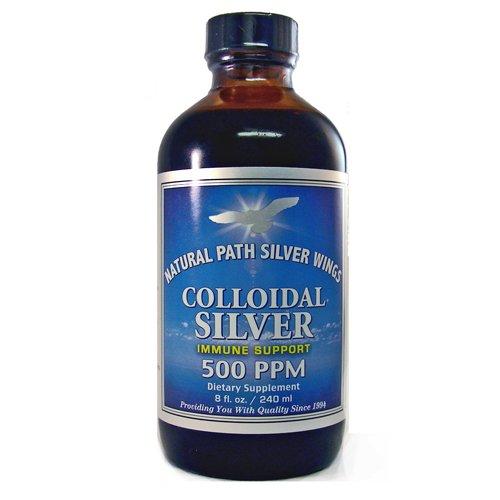 Colloidal Silver 500ppm - 8 oz - Liquid