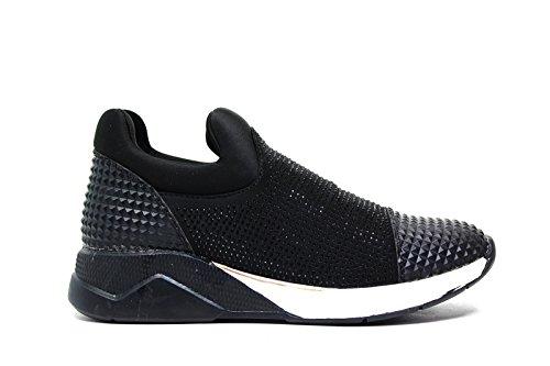 Lee Roy sneakers in pelle donna colore nero L391 BLACK nuova collezione autunno inverno 2016 2017