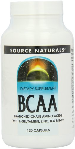 Source Naturals BCAA Branch-Chanined Amino Acids, 120 Capsules