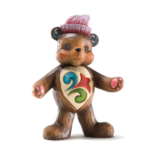 Enesco Jim Shore Heartwood Creek Mini Teddy Bear