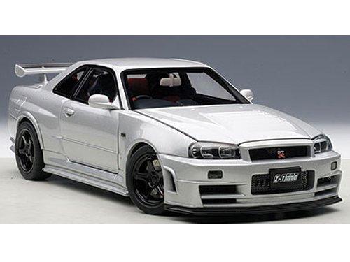 AUTOart 1/18 NISMO R34 GT-R Z-tune (Z-tune Silver) (Nissan Z Toy Car compare prices)