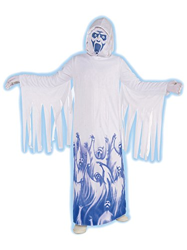Ghostly Soul Taker Costume for Boys, Child Large