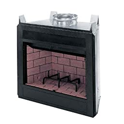 FMI Craftsman Builder 42 Inch Circulating Woodburning Firebox With Removable Stamped Louvers