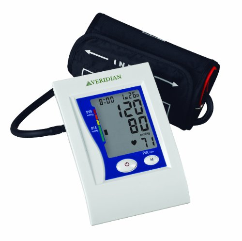 Cheap Veridian 01-5022 Automatic Premium Digital Blood Pressure Arm Monitor, Large Adult (B003Q6VFLS)