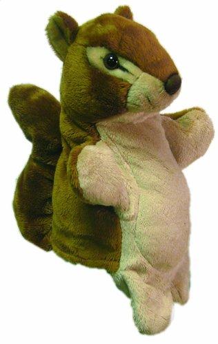 Marioneta de ardilla de peluche - 23 cm