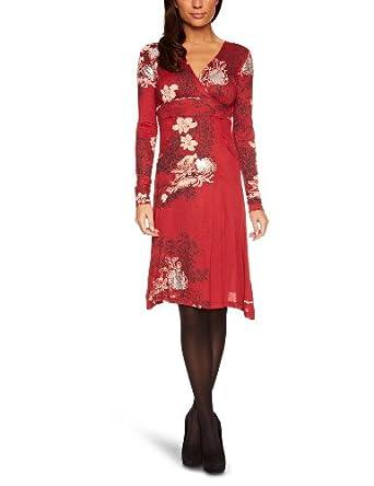 Desigual Elsa Bor Women's Dress Fresa 14