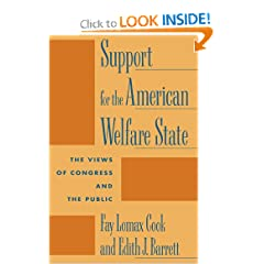 Support for the American Welfare State: The Views of Congress and the Public