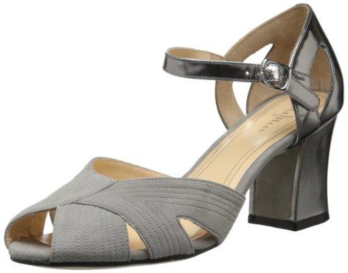 Cole Haan Women's Jovie Low Dress Sandal,Paloma Suede/Armor Specchio,8 B US (Cole Haan Jovie compare prices)