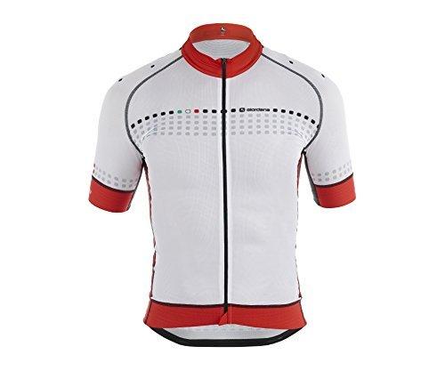 Giordana-2015-Mens-FR-C-Trade-Forte-Short-Sleeve-Cycling-Jersey-WhiteRed-Medium-by-Giordana