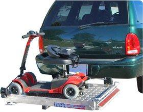 500ARV Aluminum Tilt-a-Rack Mobility Scooter and Wheelchair Carrier Rack.