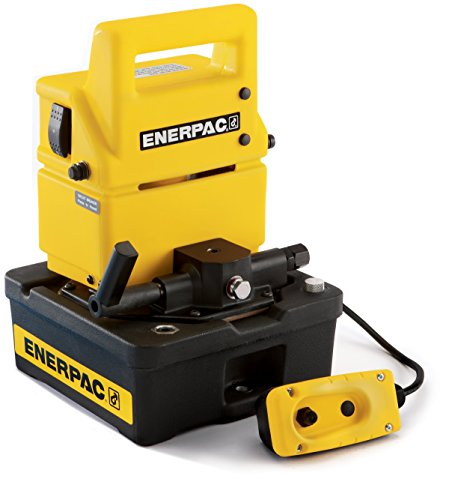 Enerpac Puj-1200B Economy Electric Pump With 3 Way Valve And Half Gallon Usable Oil Capacity