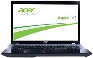 Acer Aspire V3-771-53214G75Maii 43,9 cm (17,3 Zoll) Notebook (Intel Core i5 3210M, 2,5GHz, 4GB RAM, 750GB HDD, Intel HD 4000, DVD, Win 8) grau