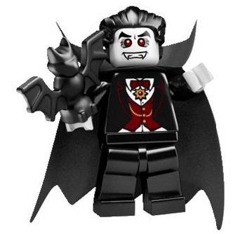 LEGO 8684 - Minifigur Vampir aus Sammelfiguren-Serie 2