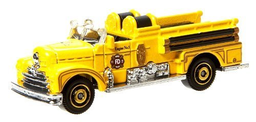 Matchbox MBX Heroic Rescue Yellow Classic Seagrave Fire Engine 17 of 120 by Mattel (English Manual) günstig online kaufen