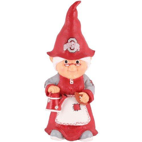 Ohio State Buckeyes Female Garden Gnome Review