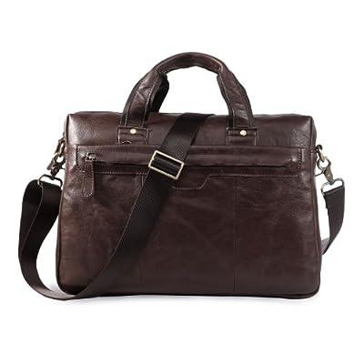 AB Earth SAC HOMME Sacoche en cuir pour PC portabl sac à main sac d'affaires , M175