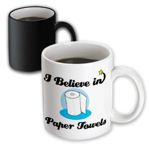 Dooni Designs I Believe In Designs - I Believe In Paper Towels - 11Oz Magic Transforming Mug (Mug_105420_3)