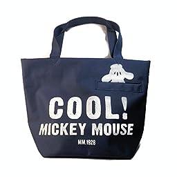 Vintage Disney Mickey Mouse Waterproof Shopping Bag Lunch Bag Diaper Bag and Tote Purse Handbag.