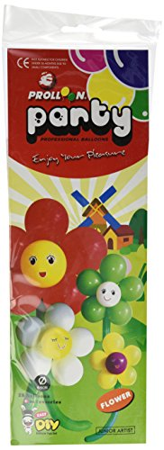 MMS Large Flower Balloon Kit (3 Sets)(28 Balloons 65cm) by Will Roya - Trick