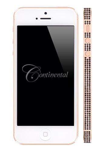Special Sale Apple iPhone 5 32GB - White - Rose Gold and Black Diamonds Luxury Mobile Phone