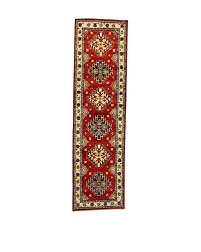 Eden Carpets Alfombra Uzebekistan Super Rojo/Multicolor 87 x 317 cm