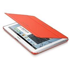 Samsung EFC-1H8SOECSTD - Funda blanda para tablet de 10.1 pulgadas, color naranja